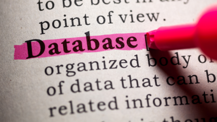 Choosing a database blog image