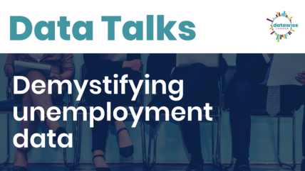 Data talks unemployment data related image